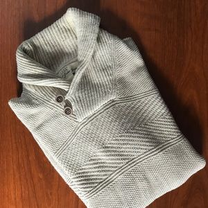 H&M: Cow Neck Knitted Sweater
